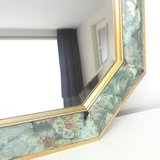 Facet geslepen spiegel bloemen | Sprinkel + Hop