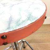 Industriële kruk chroom kunststof marmerlook | Sprinkel + Hop