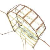 Messing glazen vitrinekastje hemel | Sprinkel + Hop