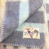 Vintage wollen deken blauw 130 x 190 | Sprinkel + Hop