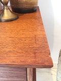 Vintage houten kastje op wieltjes | Sprinkel + Hop