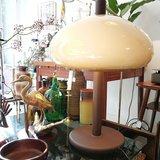 Vintage mushroom tafellamp bruin | Sprinkel + Hop