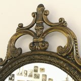 Sierlijke spiegel messing | Sprinkel + Hop