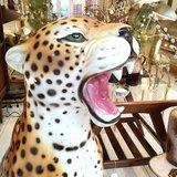 Vintage keramieken luipaard cheeta tijger | Sprinkel + Hop
