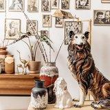 Vintage keramieken schotse collie hond | Sprinkel + Hop