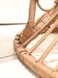 Vintage Rohe rotan pauwenstoel troon | Sprinkel + Hop