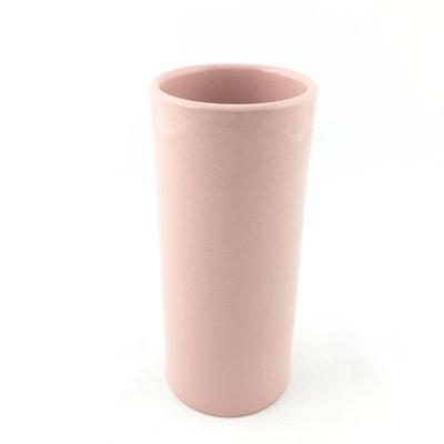 Vaas cilinder roze