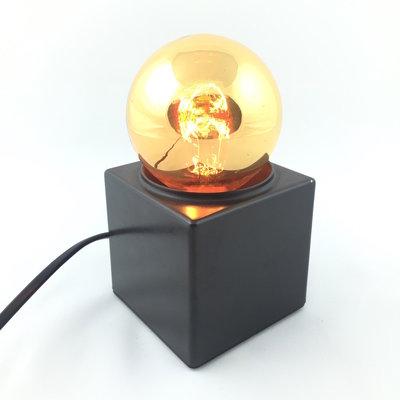 Jaren 70 Philips Spiegelbol tafellamp