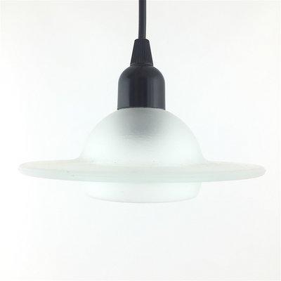 Hanglamp melkglas wit transparant