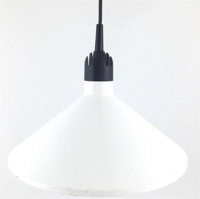 Hanglamp 80s metaal wit HEMA