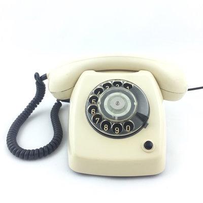 Jaren 70 PTT telefoontoestel draaischijf T65 De Luxe