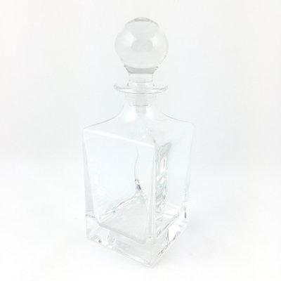 Whiskey karaf kristal vierkant