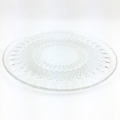 Glazen gebakschaal Italiaans