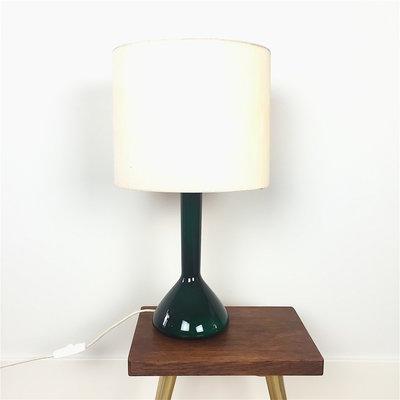 Jaren'60 tafellamp glas Kastrup Holmegaard