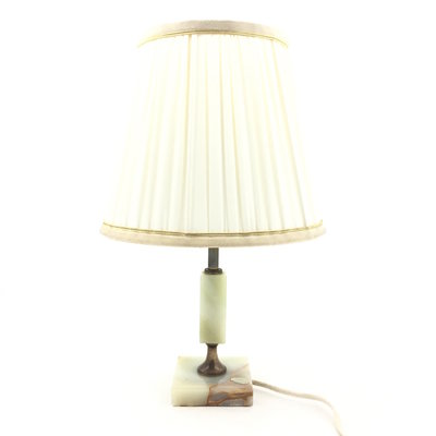 Tafellamp onyx marmer