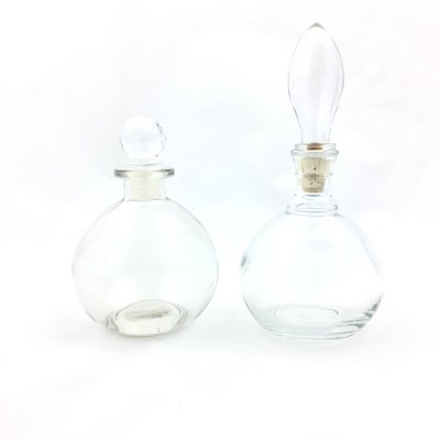 Set glazen parfumflesjes