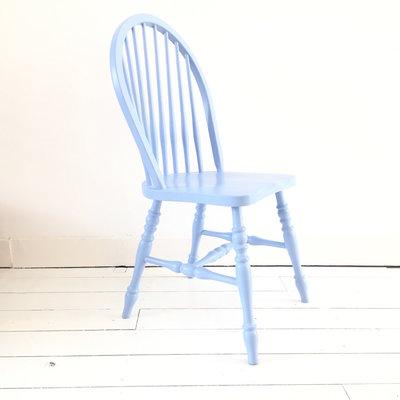 Spijlenstoel restyle blauw