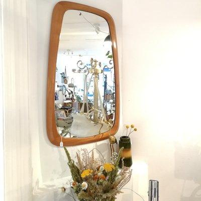 Vintage spiegel houten frame