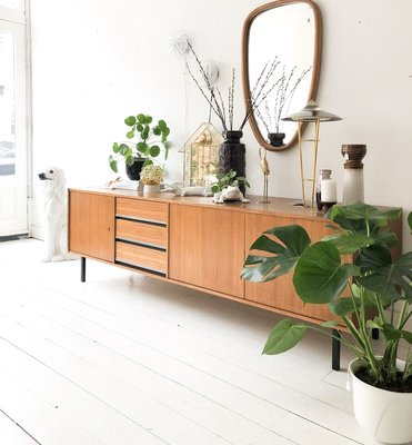 Groot vintage dressoir sideboard
