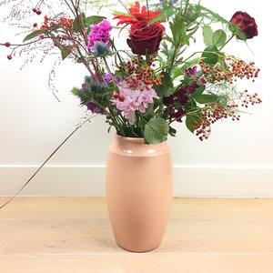 Grote vaas perzik roze 48-03 | Sprinkel + Hop