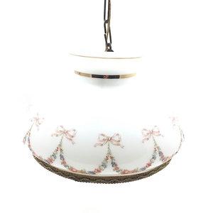 Vintage romantische hanglamp wit goud | Sprinkel + Hop