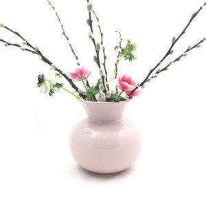 Ronde vaas pastel roze | Sprinkel + Hop