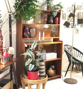 Ongekend Vintage houten vitrinekast wandkast | Sprinkel + Hop RL-47