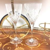 Set van 2 wijnglazen kristal | Sprinkel + Hop